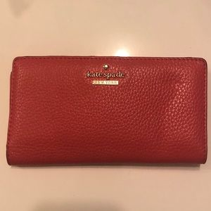 Kate Spade Pink Jackson Street Stacy Wallet